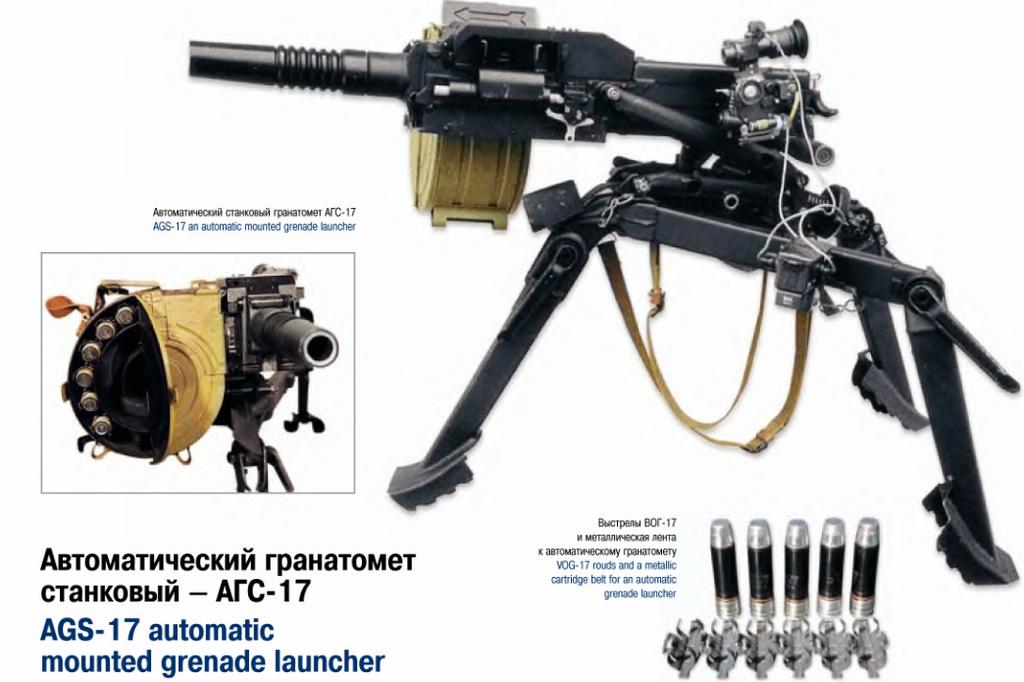 Автоматски фрлач на гранати Russian56