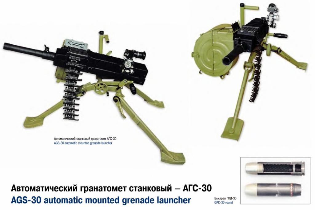 Автоматски фрлач на гранати Russian57